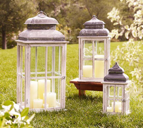 park hill windowpane lanterns pottery