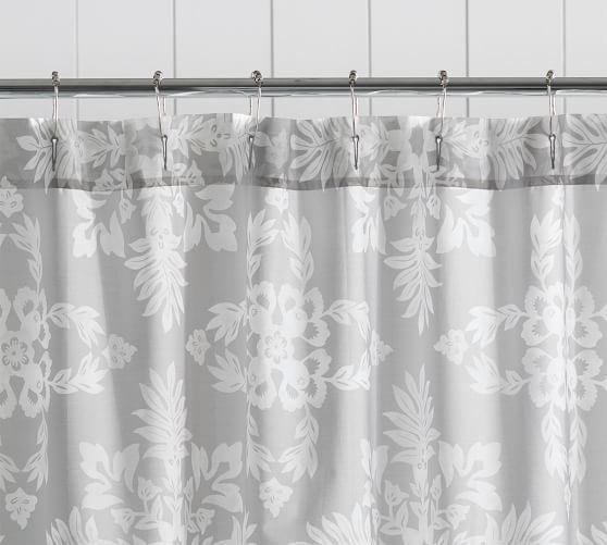 lana cotton shower curtain pottery barn