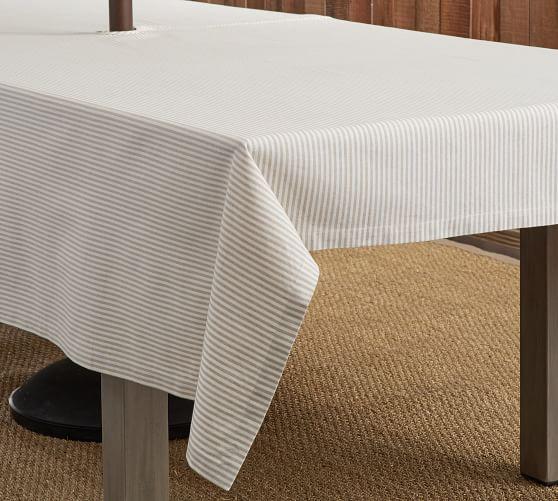 wheaton umbrella hole tablecloth