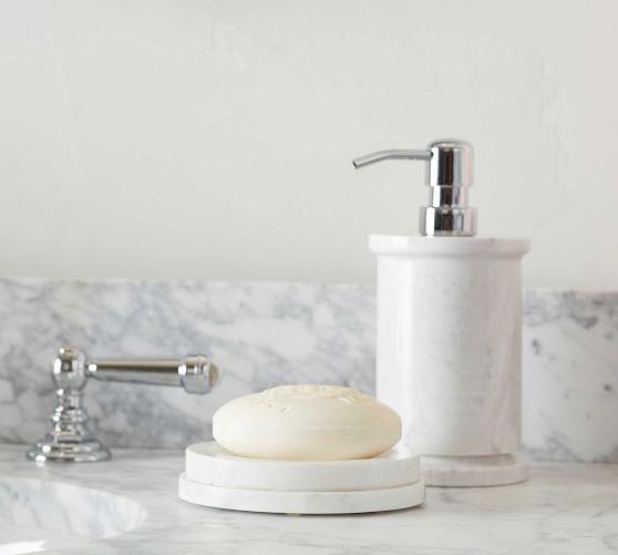 monique lhuillier marble bathroom accessories