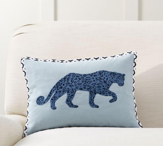 leopard print decorative pillow cover