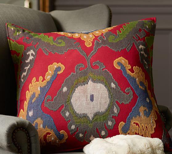 inna ikat decorative pillow cover