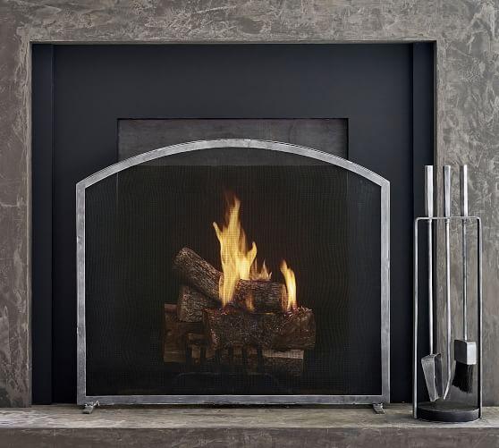 baxter 38 fireplace screen