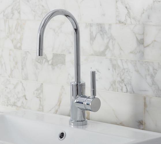 hampton single hole bathroom sink faucet