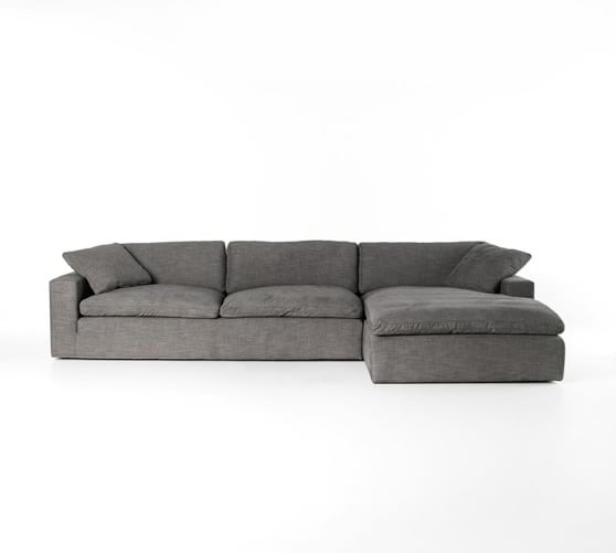 milo upholstered sofa chaise sectional