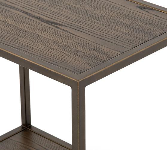 modern 22 oak side table