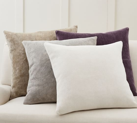 lucia chenille pillow covers