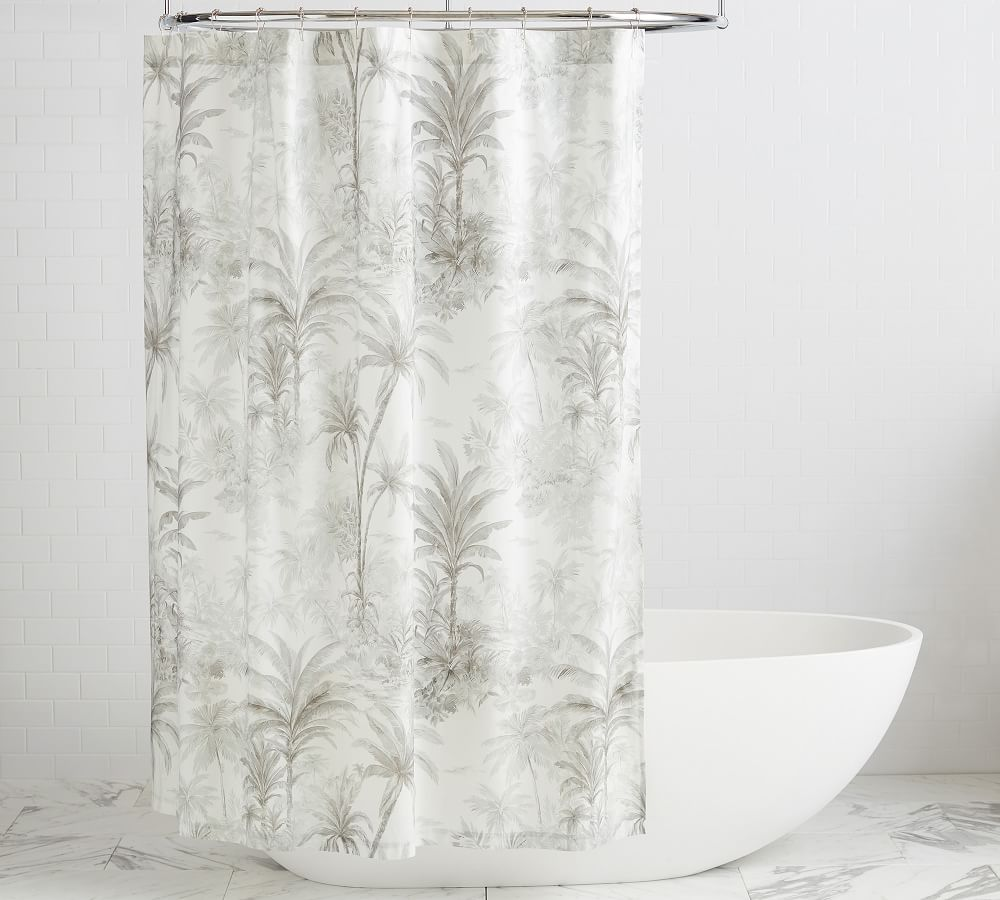 https www potterybarn com products palm toile shower curtain