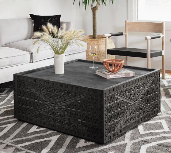 java 38 reclaimed wood coffee table