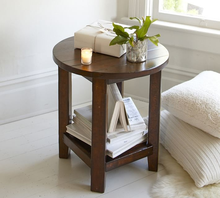benchwright 23 round end table