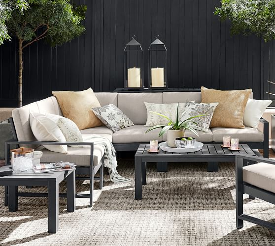 build your own indio metal sectional components slate