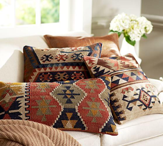 shelton kilim decorative pillow cover