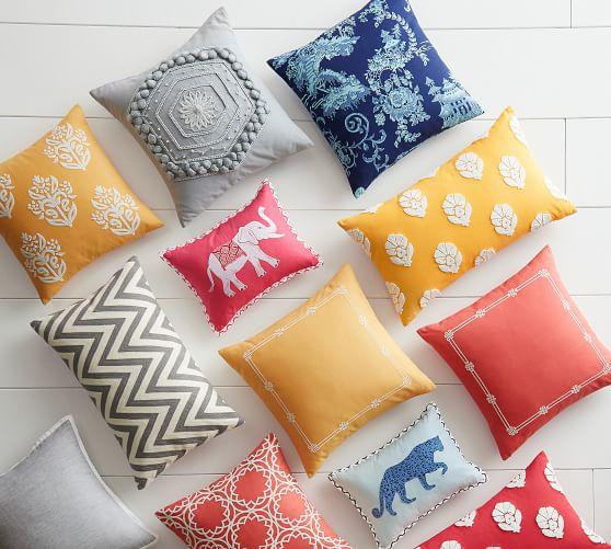 briar toile print decorative pillow