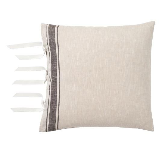 otis stripe euro pillow sham pottery barn