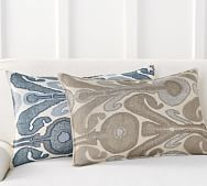 ikat pillow cover pottery barn