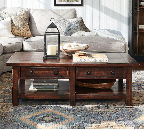 benchwright 54 rectangular coffee table