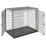 Midwest Solution Series Ginormus Double Door Dog Crate 54 L X 37 W X 45 H Petco