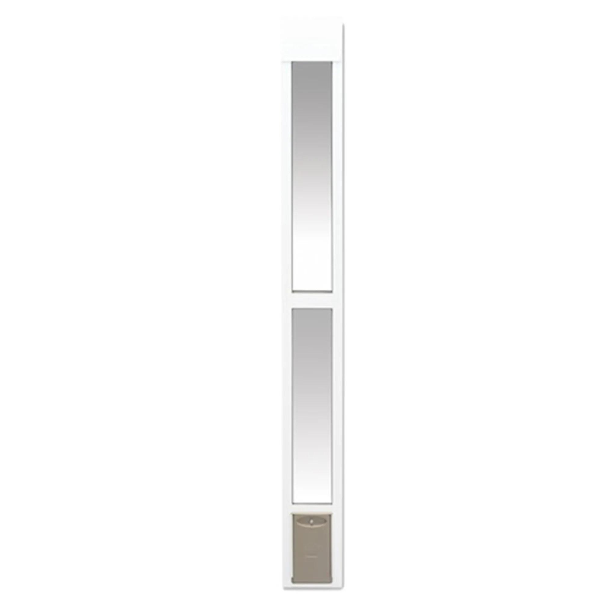 petsafe 2 piece sliding glass pet door small
