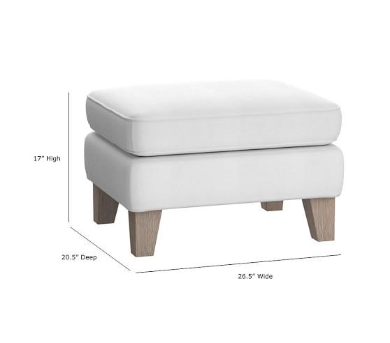 minna small spaces rocking chair ottoman