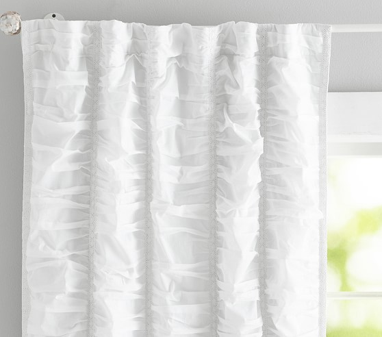 ruched sail kids blackout curtain