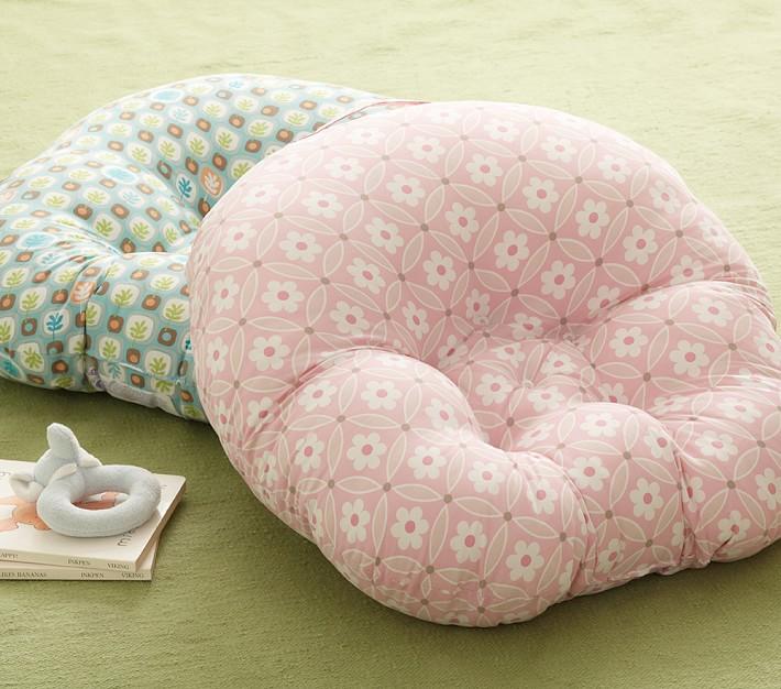 boppy pillow newborn lounger pottery