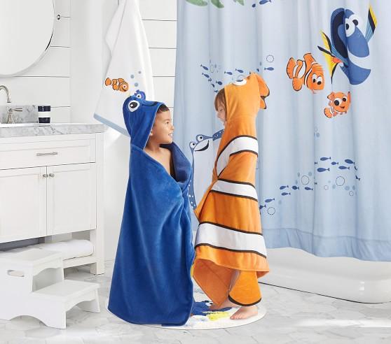 disney and pixar finding nemo shower curtain
