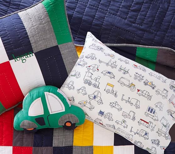 logan car shaped decorative nursery