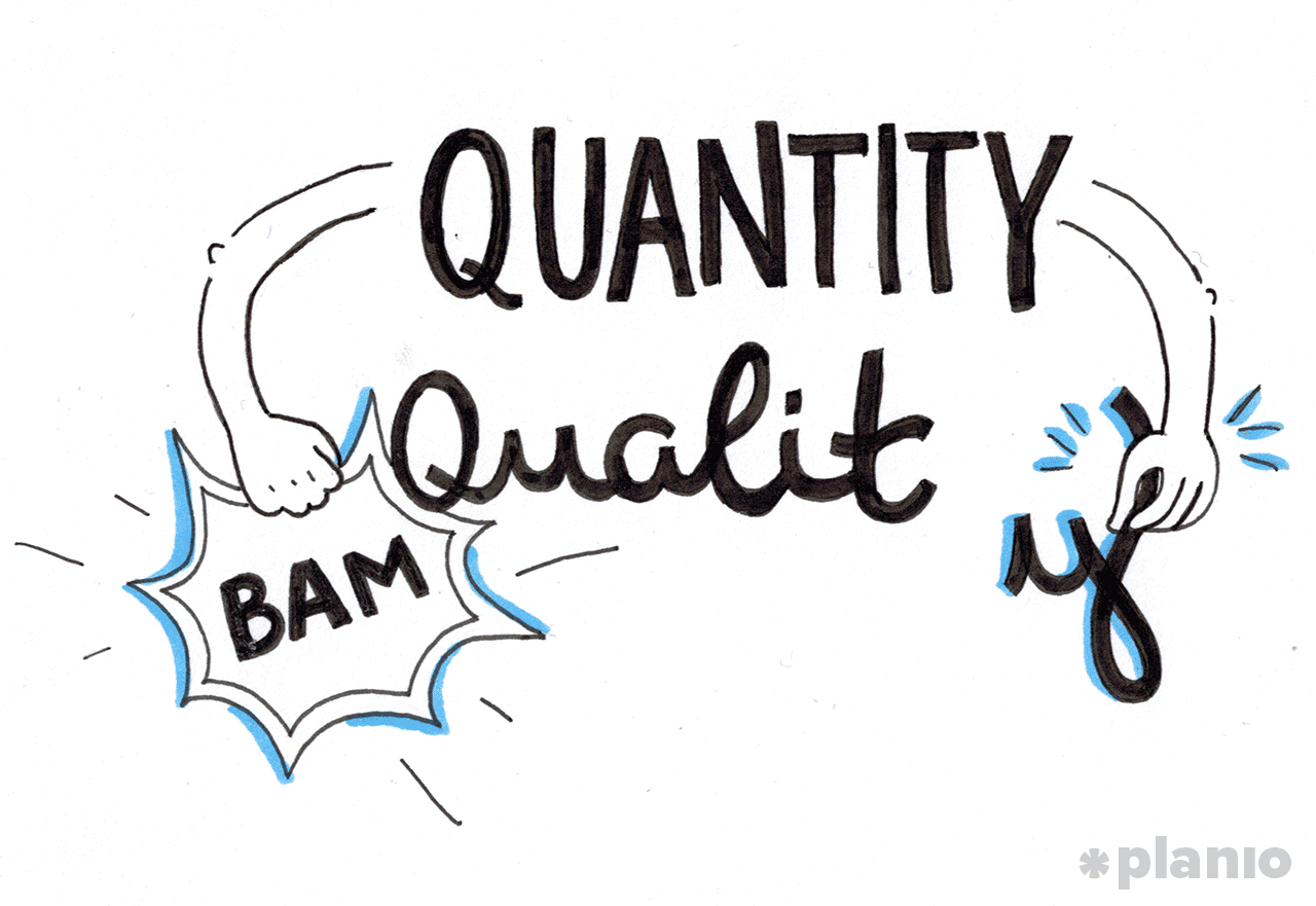 Why Quantity Beats And Creates Quality