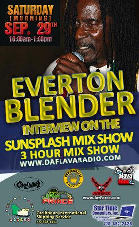 Everton Blender Interview