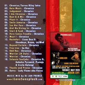 Chronixx Mix CD