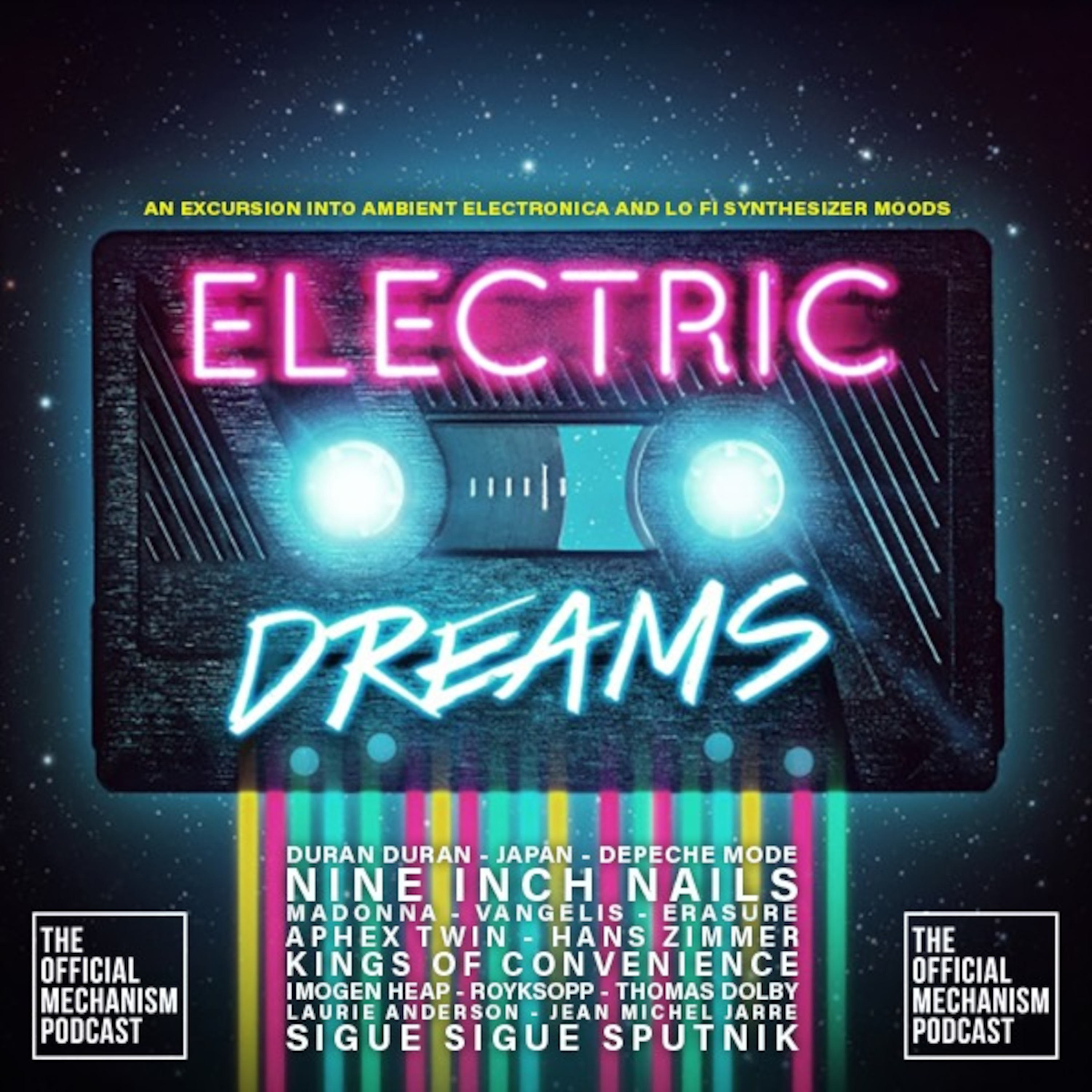 894 Electric Dreams The Official Mechanism Podcast
