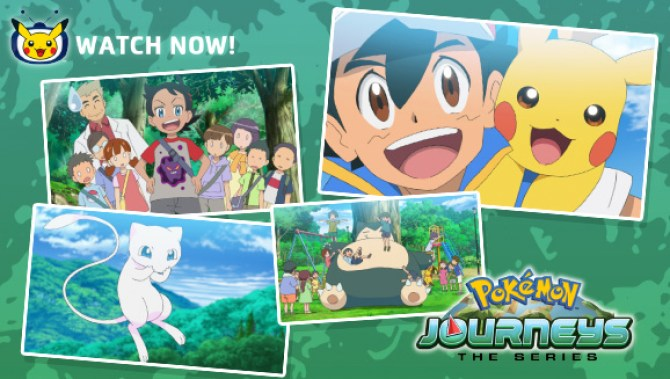 Watch Pokémon Journeys: The Series Episode 1 Now on Pokémon TV and YouTube  | Pokemon.com