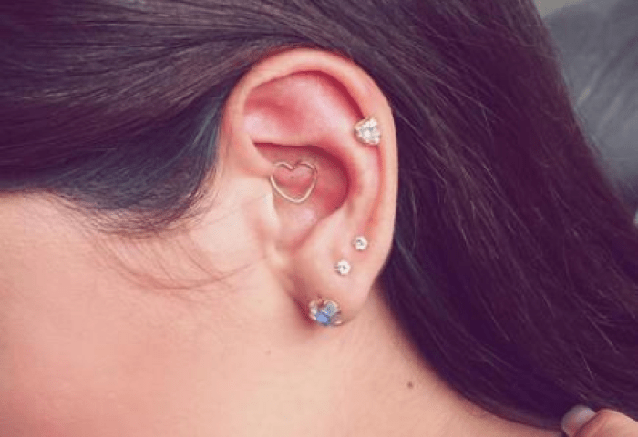 13 Unique Ear Piercing Combos That Youll Definitely Want To Get