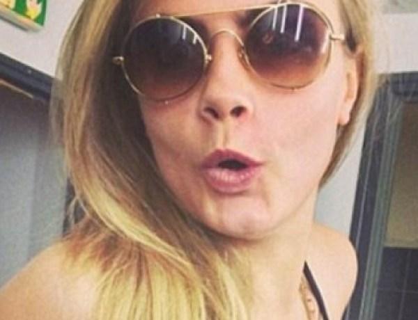 Cara Delevingne très à l'aise avec la nudité