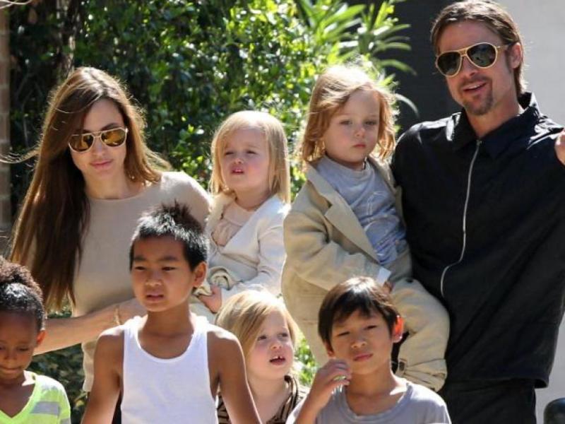 Angelina Jolie demande le divorce : Brad Pitt est-il un mauvais père ?