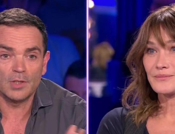 On n'est pas couché : L'étrange compliment de Yann Moix à Carla Bruni