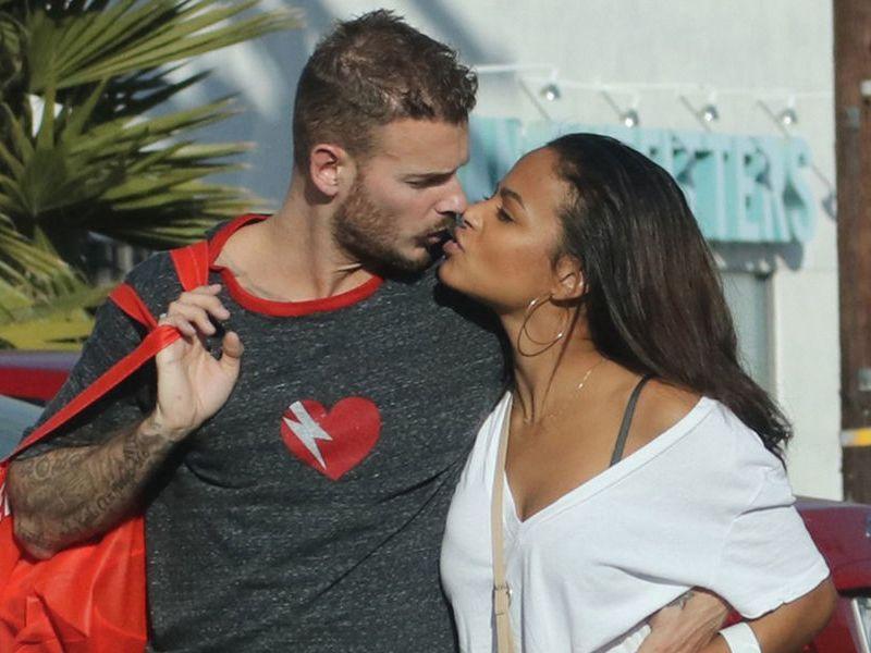 M. Pokora et Christina Milian plus amoureux que jamais sous le soleil de Los Angeles!