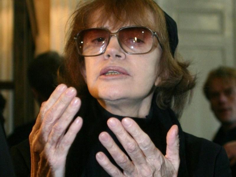 Nadine Trintignant appelle Cantat à s'arrêter «complètement»
