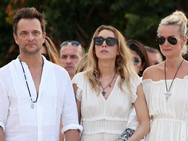 Le manager de Johnny Hallyday affirme que Laura Smet et David Hallyday ne rendaient pas souvent visite à leur père