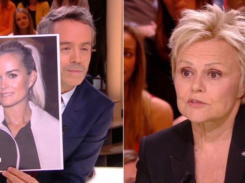 Quotidien : Muriel Robin avoue ne plus avoir de nouvelles de Laeticia Hallyday