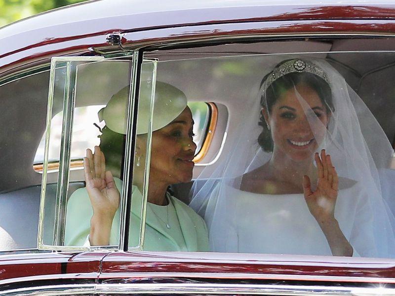 Mariage du prince Harry et de Meghan Markle : Découvrez l'arrivée des futurs mariés