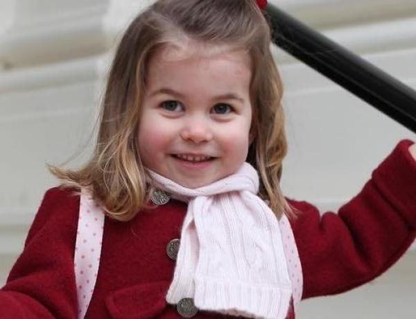 La princesse Charlotte, nouvelle coqueluche des Britanniques