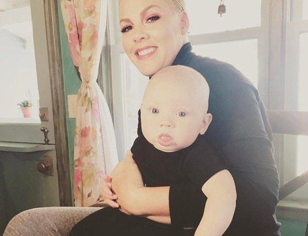 Pink : son fils atteint d'un virus particulier