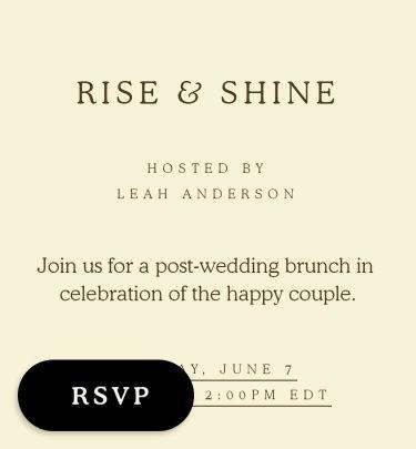 brunch invitations send online