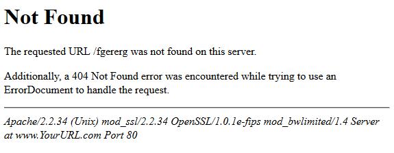 http error 404 not found - PrestaShop blog