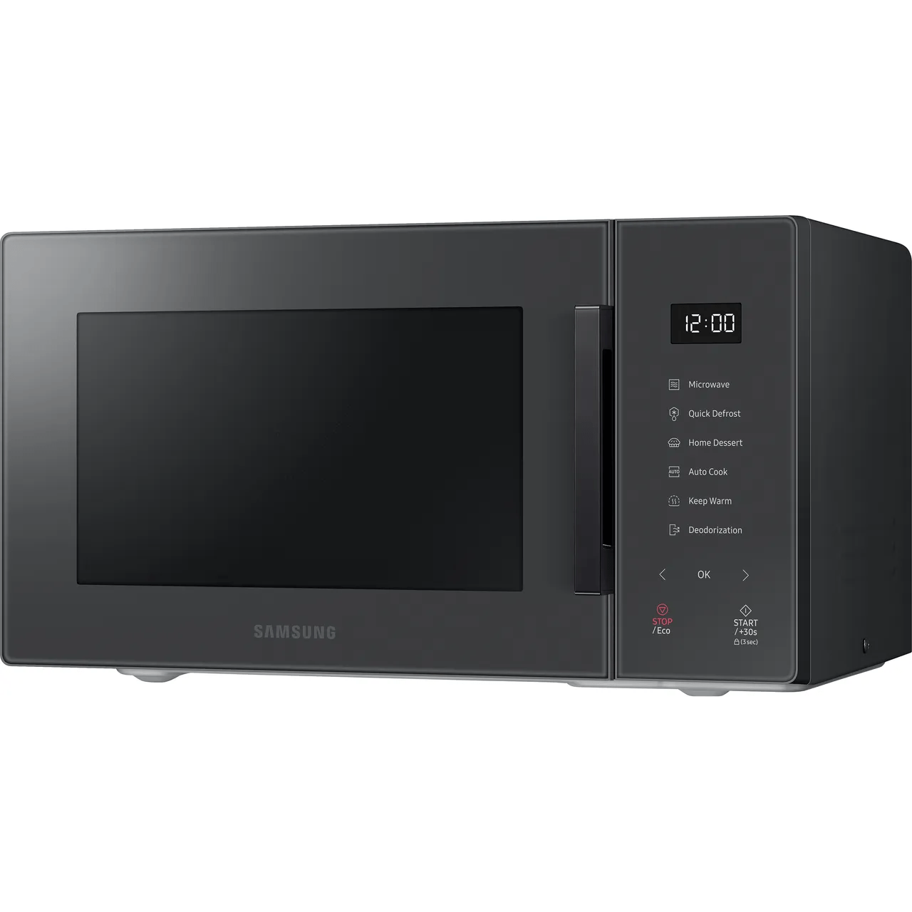 samsung mw5000t ms23t5018ac 23 litre microwave charcoal