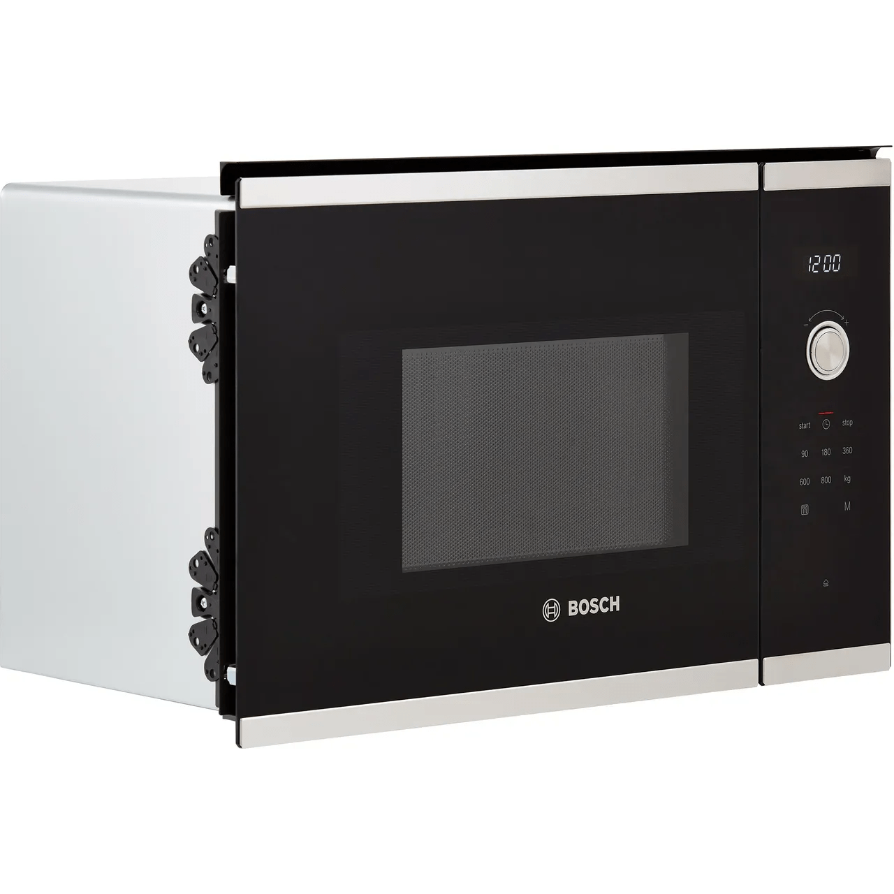 bosch serie 6 bfl524ms0b built in microwave stainless steel