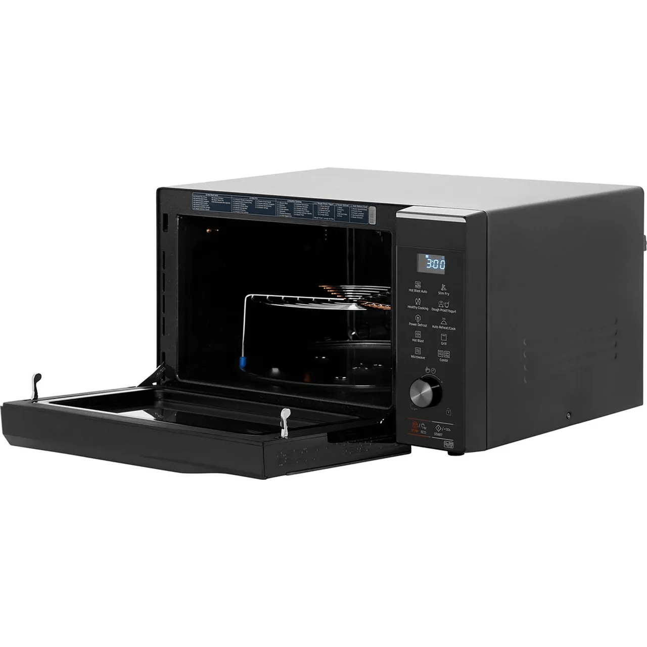 samsung hotblast mc32k7055ck 32 litre combination microwave oven black