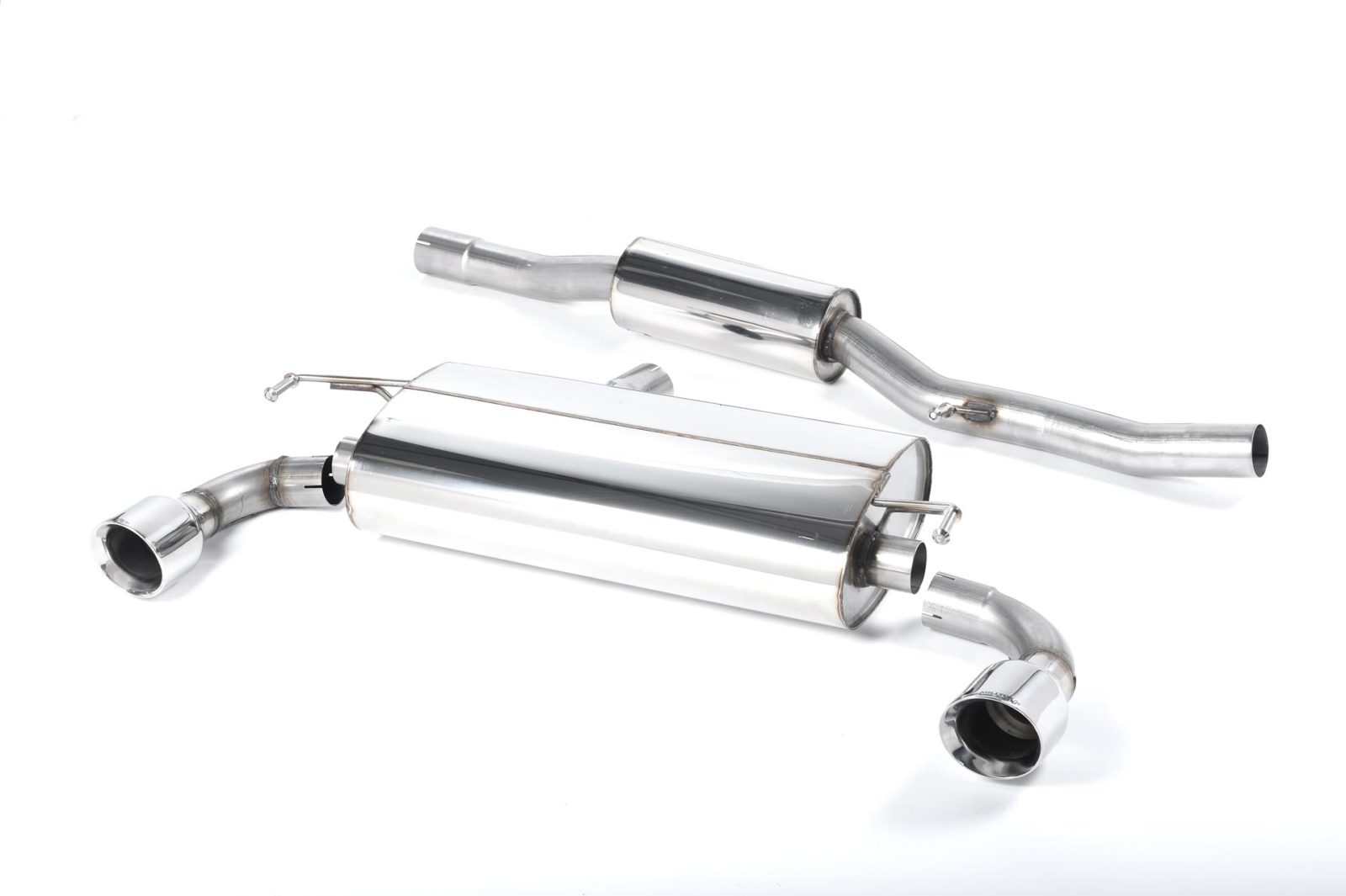 Milltek Vw Golf Mk4 R32 V6 4wd 02 05 Cat Back Exhaust