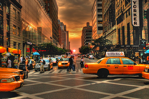 Avant Sunset 34th Street, NYC, 1 RAW HDR © PhotoMagister